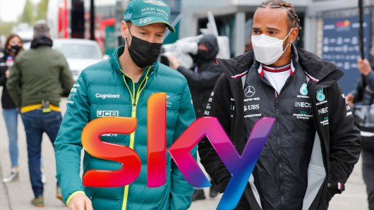 Formel 1 ausschließlich bei Sky: Einem Weltmeister gefällt das ganz und gar nicht.
