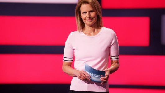 ZDF-Sportstudio: Kathrin Müller-Hohenstein hätte gerne einen Weltstar zu Gast.