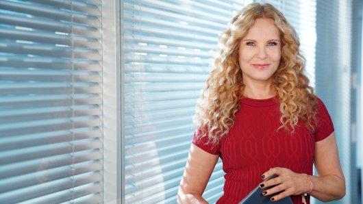 RTL-Star Katja Burkard.