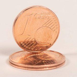 Euro: Ist deine 1-Cent-Münze vielleicht sogar 6.000 Euro wert? (Symbolbild)