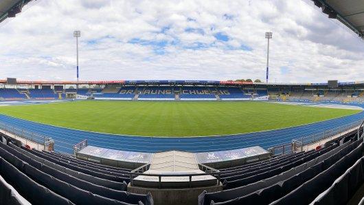 Das Eintracht-Stadion in Braunschweig wird am Mittwoch bunter als gewöhnlich. Hintergrund ist eine Soli-Aktion... (Archivbild)