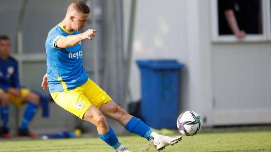 Martin Kobylanski traf in der vergangenen Saison im DFB-Pokal-Auftakt dreifach – ob ihm das wieder gelingt?