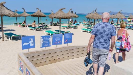 Urlaub: Touristen müssen in den Hochinzidenzgebieten gewisse Dinge beachten. (Symbolbild)