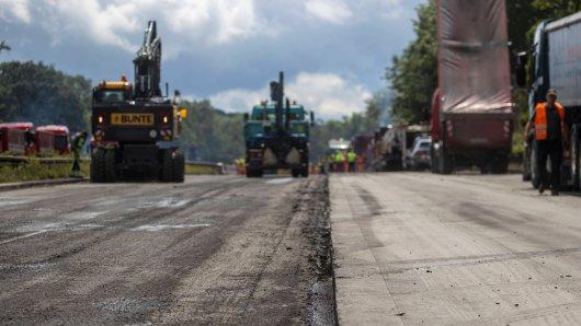 Auf der A2 wird bald wieder kräftig gebaut! (Archivbild)