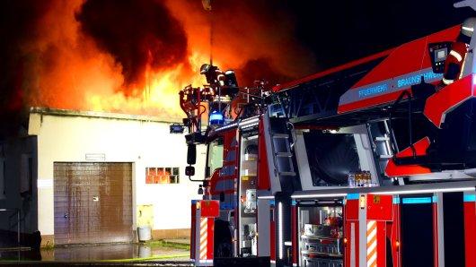 Offenbar war in Braunschweig ein Feuerteufel unterwegs...