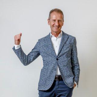 Läuft bei ihm: VW-Chef Herbert Diess dürfte allen Grund zur Freude haben.