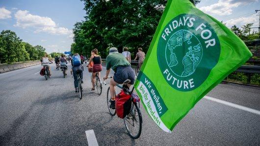 """Niedersachsen: Eins ist schon mal klar – über die A7 darf """"Fridays for Future"""" nicht radeln. Aber, was ist mit der A2? (Symbolbild)"""