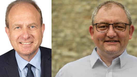 Amtsinhaber Gerhard Radeck (CDU) und Jan Fricke (SPD) liefern sich ein Kopf-an-Kopf-Rennen um das Amt des Landrats in Helmstedt.