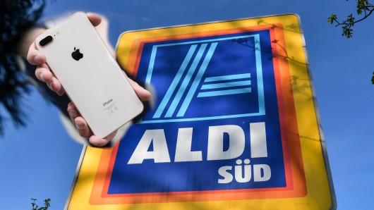 Ein iPhone aus dem Aldi-Shop sorgte bei einem Kunden für Ärger.