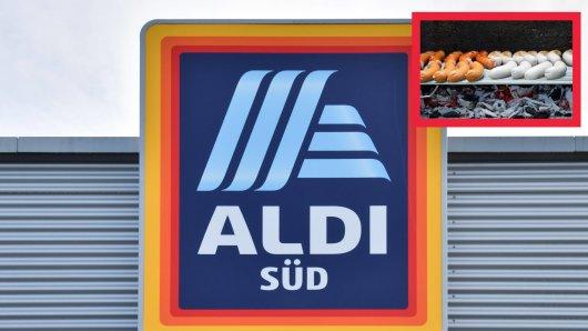 Die Bratwurst von Aldi hielt für einen Kunden eine unangenehme Überraschung bereit.