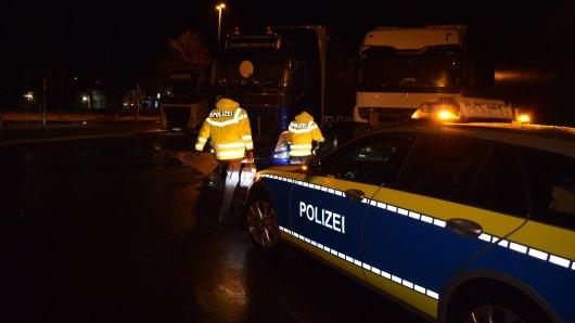 Die Polizei zog eine erschreckende Bilanz nach den Kontrollen am Sonntag auf der A7.
