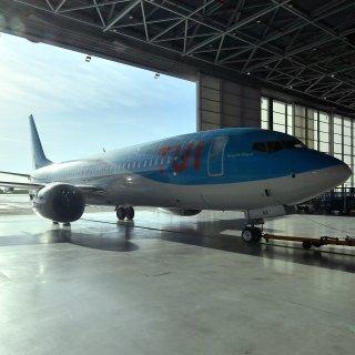 Der Tui-Konzern hat reagiert. Der umstrittene Flugzeugtyp Boeing 737 Max 8 muss erstmal am Boden bleiben (Archivbild).