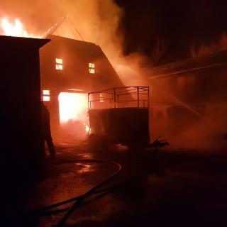 In der Silvesternacht 2018/2019 hat ein Feuer Liens Wohnhaus in Niedersachsen komplett zerstört.