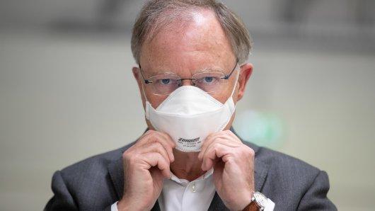 Niedersachsen Ministerpräsident Stephan Weil (SPD) war am Donnerstag zu Gast bei Markus Lanz und sprach unter anderem über die Maskenpflicht.