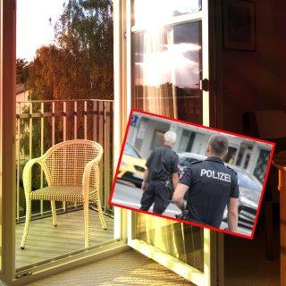 Eine Frau hat ihre Balkontür in Hannover offen gelassen – nun ermittelt die Polizei gegen sie. (Symbolbild)