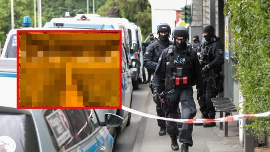 Polizeibeamte haben 14 Häuser in Hannover und der Region durchsucht und dabei eine irre Entdeckung gemacht! (Symbolbild/Collage)