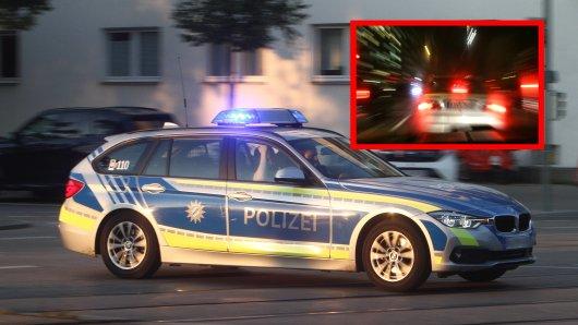 Die Polizei Hannover spurtete los, als sie diese Autos entdeckten. (Symbolbild)