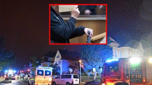 In Hannover haben sich in einer Wohnung grauenhafte Szenen abgespielt. Einem Mann wird ein grauenhafter Mord vorgeworfen - er aber erzählt die Geschichte anders.