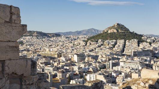 Athen ist von einem schweren Erdbeben erschüttert worden.