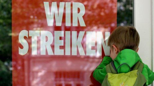Verdi ruft in Braunschweig und Wolfsburg zum Streik auf – diesmal trifft es auch Kitas... (Archivbild)