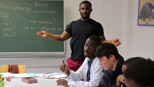 Liegt es an der WVG, wenn Geflüchtete zu spät zum Deutschkurs kommen? (Symbolbild)