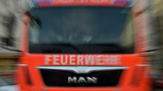 Auf der A2 brannte am Montagmorgen ein LKW.