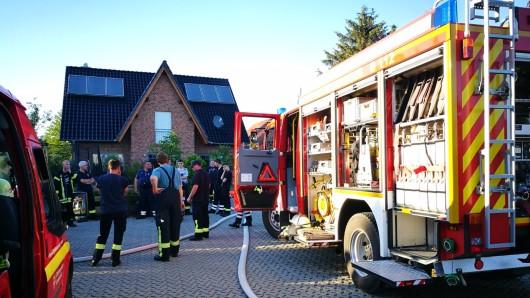 Die Feuerwehr hat am Montagabend den Ernstfall geprobt.