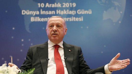 Der türkische Präsident Recep Tayyip Erdogan. Er steht (mal wieder) in der Kritik.