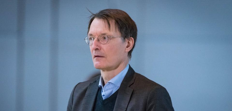 Karl Lauterbach: Der SPD-Politiker ist derzeit sehr präsent. (Symbolbild)