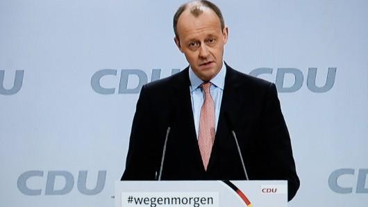 Friedrich Merz: Der CDU-Politiker steht kurz vor einem Bundestags-Comeback. (Symbolbild)