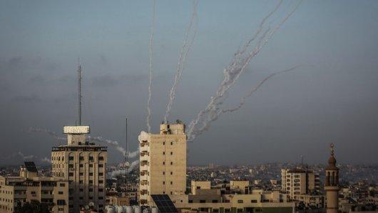 Seit dem 10. Mai feuern militante Palästinenser Raketen auf Israel – laut Angaben des israelischen Militärs bislang 1800 Stück.