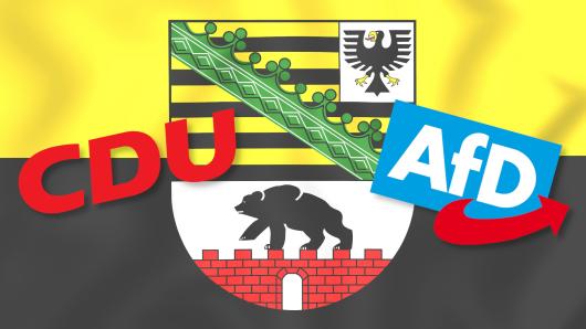 Landtagswahl in Sachsen-Anhalt: Laut aktuellen Umfragen könnte es richtig eng werden zwischen AfD und CDU.