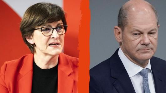 Wird SPD-Parteichefin Saskia Esken eine Belastung für Kanzlerkandidat Olaf Scholz?