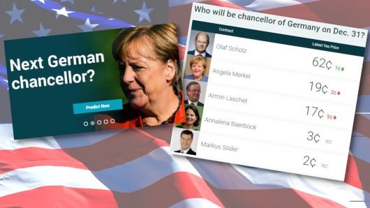 Die Amerikaner wetten auf den Wahlausgang in Deutschland! Wer gewinnt die Bundestagswahl und folgt auf Kanzlerin Angela Merkel?
