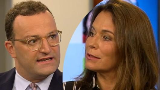 Anne Will will ihren Gast Jens Spahn zurechtweisen, da düpiert sie ein anderer Gast mit einer Hintergrundinfo.