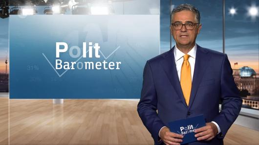 Alle schauen vor der Bundestagswahl auf die Umfragen: Das ZDF-Politbarometer wird von Matthias Fornoff präsentiert.
