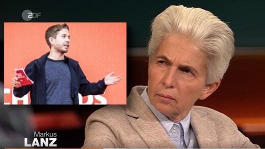 Attacke auf Kevin Kühnert in der Sendung von Markus Lanz (ZDF).