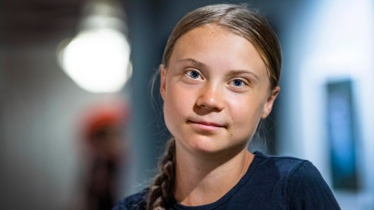 Greta Thunberg lebt ein bisschen Normalität.