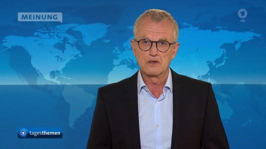 Im Netz gibt es große Empörung über den Tagesthemen-Kommentar von WDR-Mann Detlef Flintz zur Inflation.