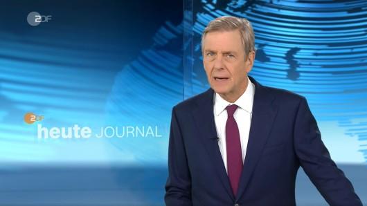 ZDF-Moderator Claus Kleber sorgt im heute journal mit einer Bemerkung für Empörung bei einem Bundestagsabgeordneten der CDU.
