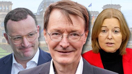 Weg frei für Karl Lauterbach durch den Paukenschlag mit Bärbel Bas? Wird er Nachfolger von Gesundheitsminister Jens Spahn?