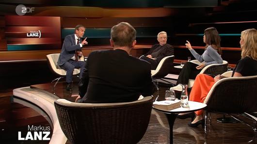 Markus Lanz in hitziger Diskussion mit Grünen-Politiker Cansin Köktürk.