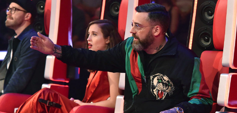 """""""The Voice of Germany"""": Ärger um Sido."""
