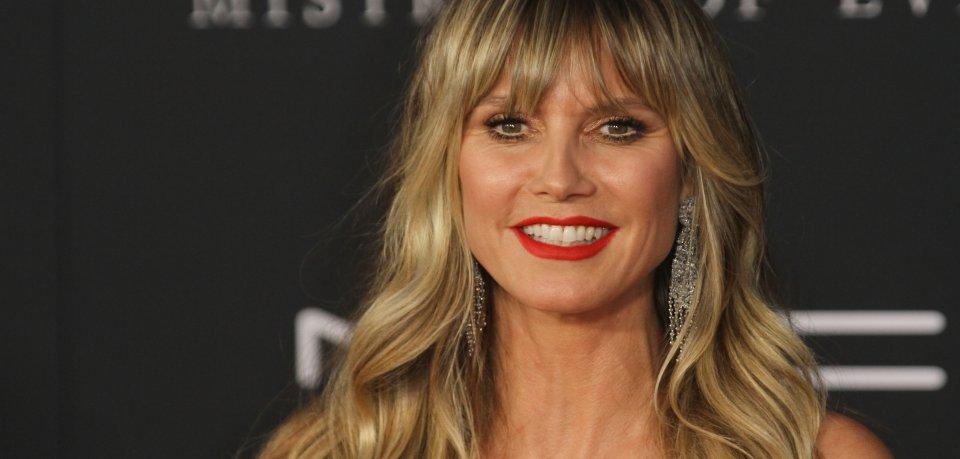 Heidi Klum zeigt sich mal wieder super-sexy.