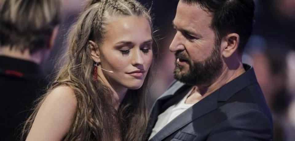 Laura müller und Michael Wendler bei Let's Dance am 21. Februar bei der Auftaktshow.