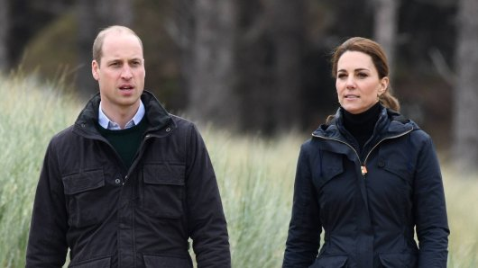 Prinz William und seine Frau Kate Middleton