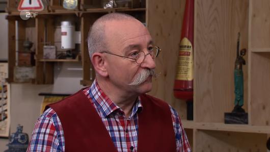 """""""Bares für Rares""""-Moderator Horst Lichter konnte nicht glauben, was ein Kandidat verkaufen wollte."""