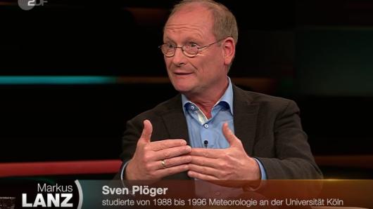 Metereologe Sven Plöger war bei Markus Lanz im ZDF zu Gast.