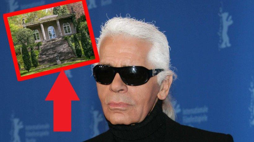 Karl Lagerfeld: Villa steht zum Verkauf – DESHALB will sie keiner