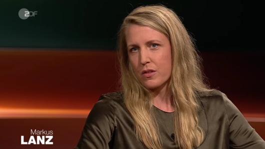 """Journalistin Elisabeth Rather war bei """"Markus Lanz"""" im ZDF zu Gast."""